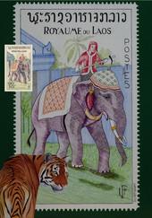 Eléphant du Laos