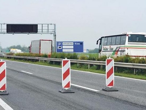Turbó körforgalmak épülnek az M5-ös autópálya és az 54-es főút találkozásánál