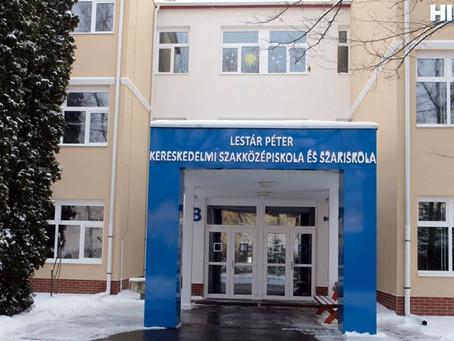 Befejeződött az egykori Lestár Péter iskola energetikai korszerűsítése