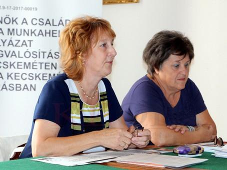 Tanácsadó Testület segíti a kecskeméti Család és KarrierPONT munkáját