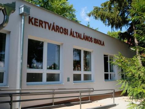 Befejeződött a Kertvárosi Általános Iskola energetikai korszerűsítése