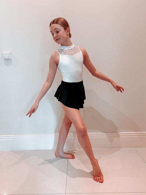 Juliet Velvet Mini Skirt