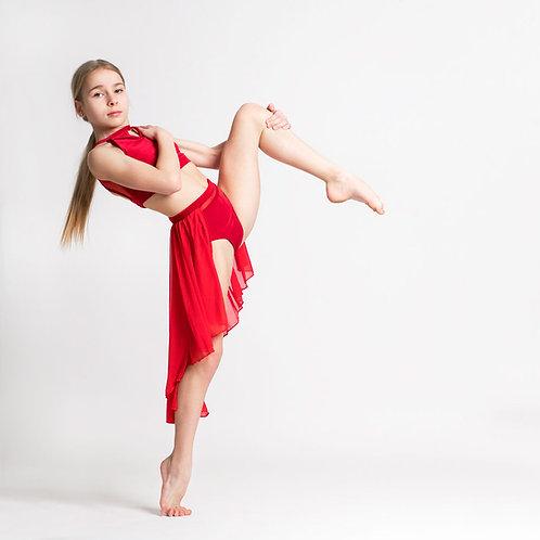 Scarlet Rosa Lyrical Skirt