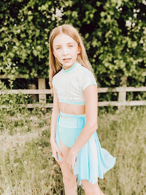 Sky Blue Rosa Lyrical Skirt