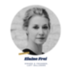 elaine frei, panelist at the next collective, owner & founder of luft balloons