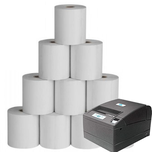 4Inch 110x100 mtr Thermal Roll for Thermal Printer