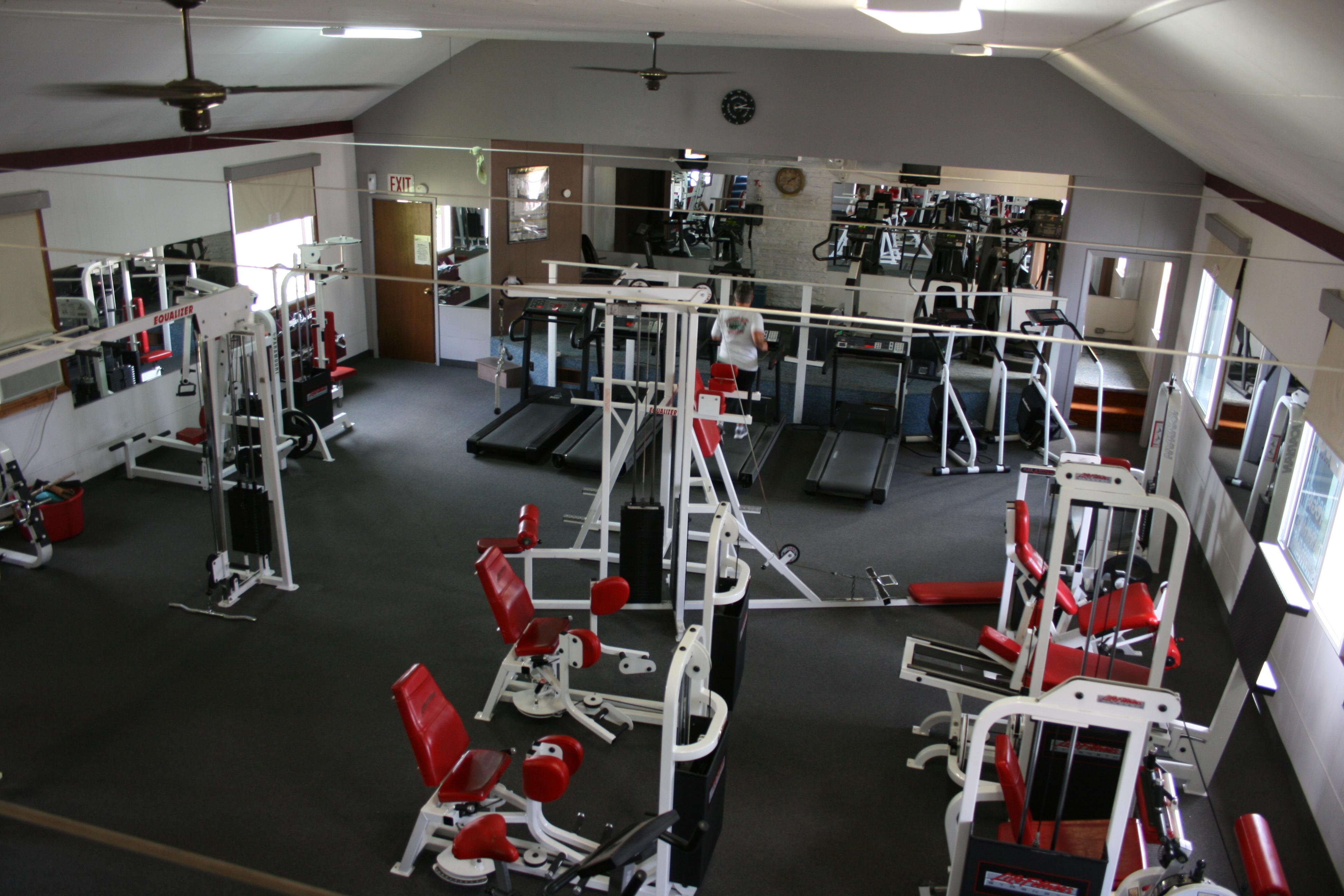 Upper gym facility