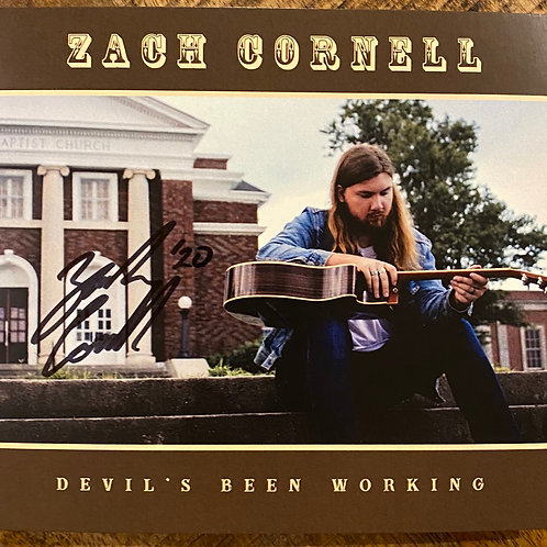 Devil's Been Working (Signed Copy)