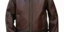 Bomber Original Shearing Brown Leather flying jacket
