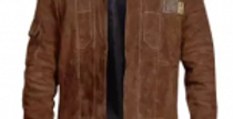 Feather Hide Solo Star Wars Story Han Solo Brown Suede Leather Jacket