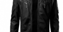 Daraz Select Winter Leather Jacket for Men – Design 5
