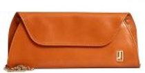 Elegant Orange Clutch By Jafferjees