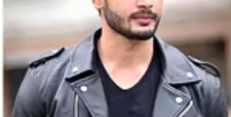 Rohit khandelwal Faux Leather Jacket For Men – Black