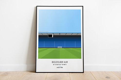 stadionposter - bielefelder alm