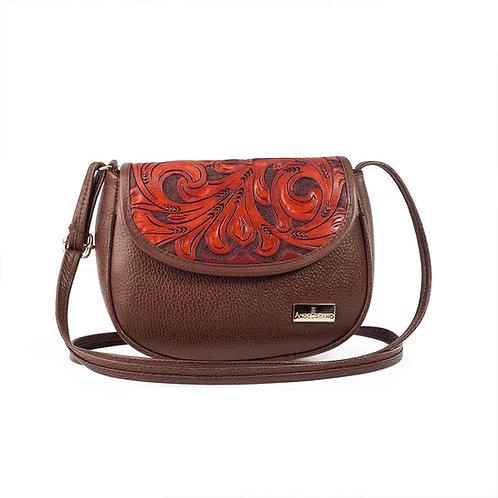 Karen Small Crossbody Brown Leather