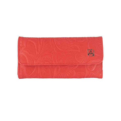 Trifold Chiseled Red
