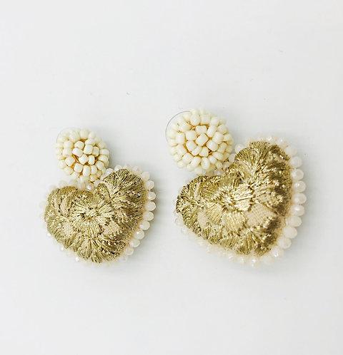 Blonde Earrings