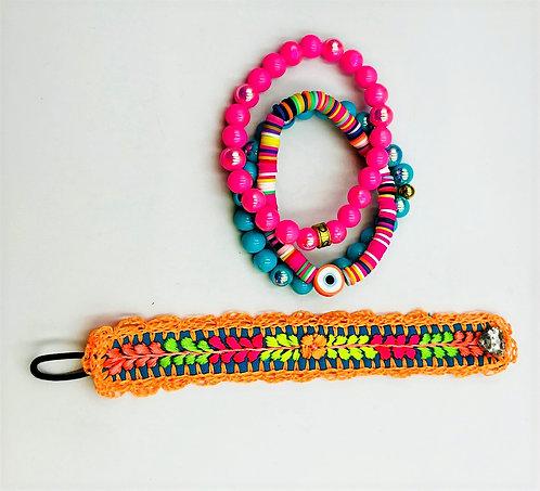 Pinky Blue Bracelet