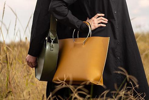 Eco-Leather Handbags Vegan Leather - Environmentally Friendly Handbags | DELICATE EXPRESSION