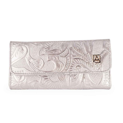 Trifold Chiseled Silver