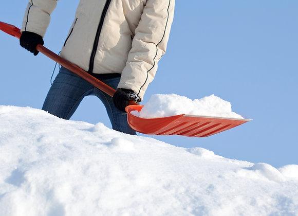 Residential Snow Removal+Salt