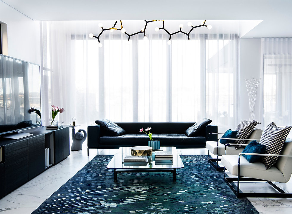 chiswick residence design modern lounge