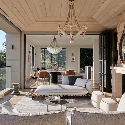 Mosman Harbour-view House