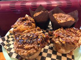 Gluten Free Sticky Buns & Muffins