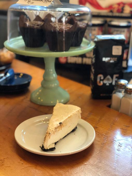 Caramel Kahula Cheesecake