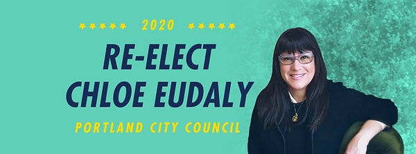 Vote Chloe Eudaly for Portland City Council Commissioner Position 4