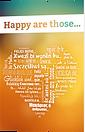 Glücklich sind - Traktate beim Leseplatz