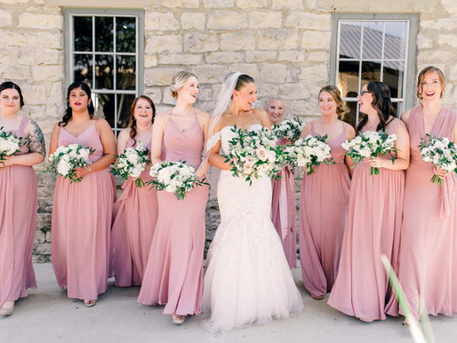 Morena + Mike | Elegant Pink Wedding at Stonehouse Villa