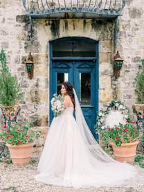 MARIAH + ELY| WEDDING PORTRAITS AT LE SAN MICHELE