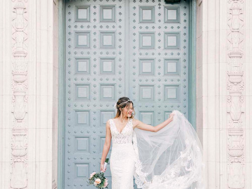 Karina's Bridal Session at the UT Campus in Downtown Austin