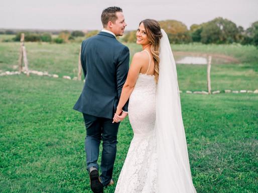 Violet + Trevor | Neutral Boho Wedding at Stonehouse Villa