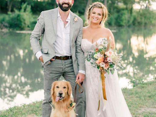 Mariah + Nik | Riverside Airbnb Boho Wedding in San Marcos, Texas