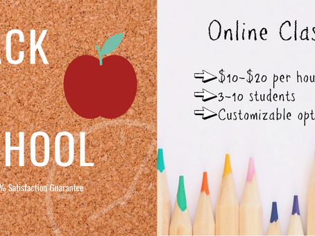 Ask About Our Customizable Online Classes!