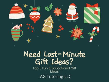 Top 3 Fun & Educational Gift Ideas