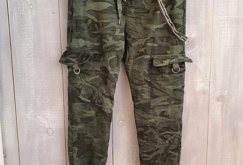 Camo Trousers - Khaki