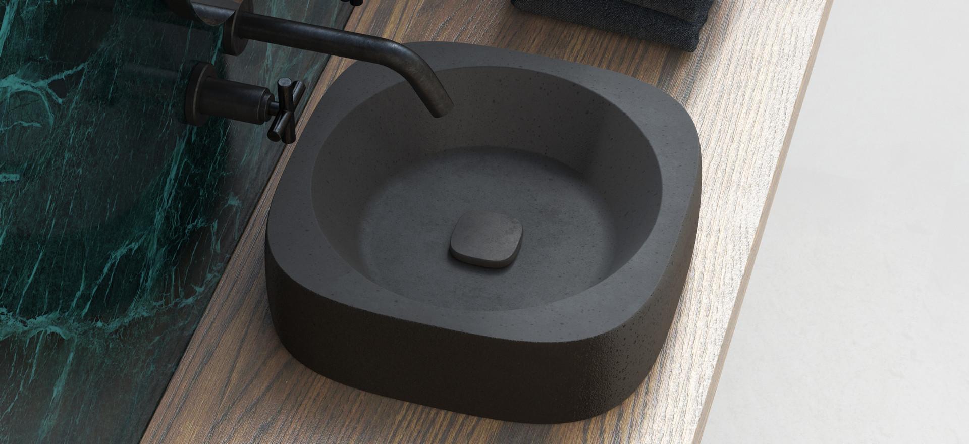 Orilla - Concrete Washbasin for Urbi et Orbi
