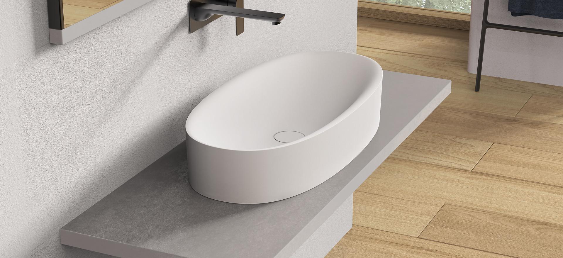 Solidcliff-70 Washbasin - Design Series for Ideavit B.V.