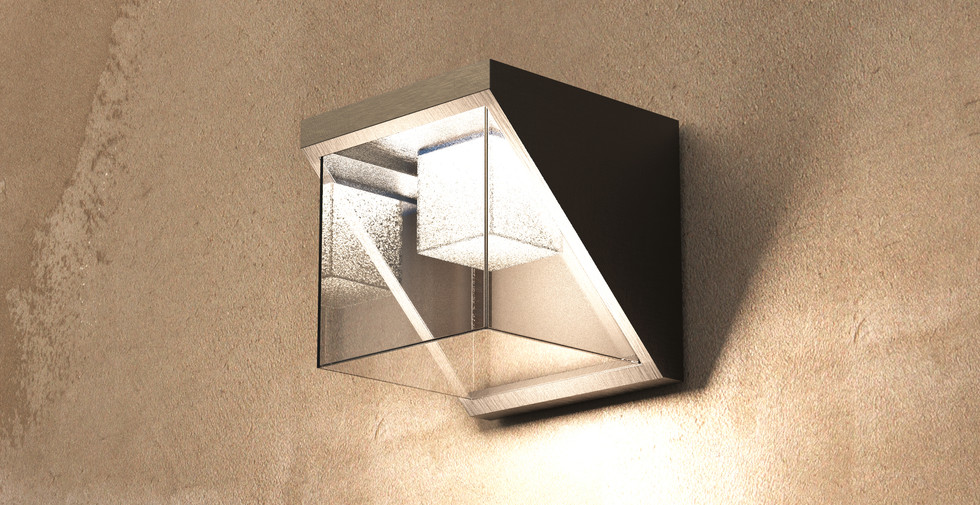 Cubico - Outdoor Wall Lamp