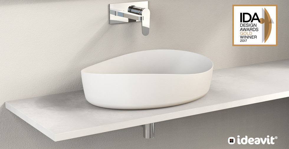 SOLIDHARMONY - Design Series for Ideavit B.V. - Oval Washbasin
