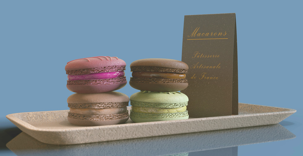Macarons - CGI