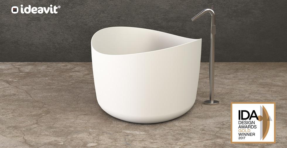 SOLIDHARMONY - Design Series for Ideavit B.V. - Bathtub