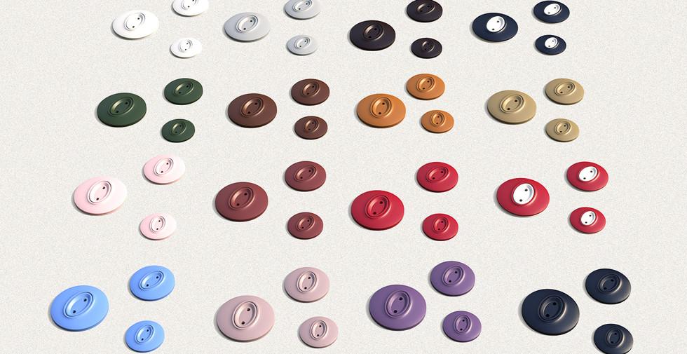 Dill Buttons - Model Figura