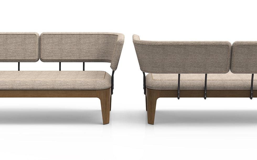 furniture design, sofa, sofa design, elegant furniture, modern furniture, wood, oak, walnut