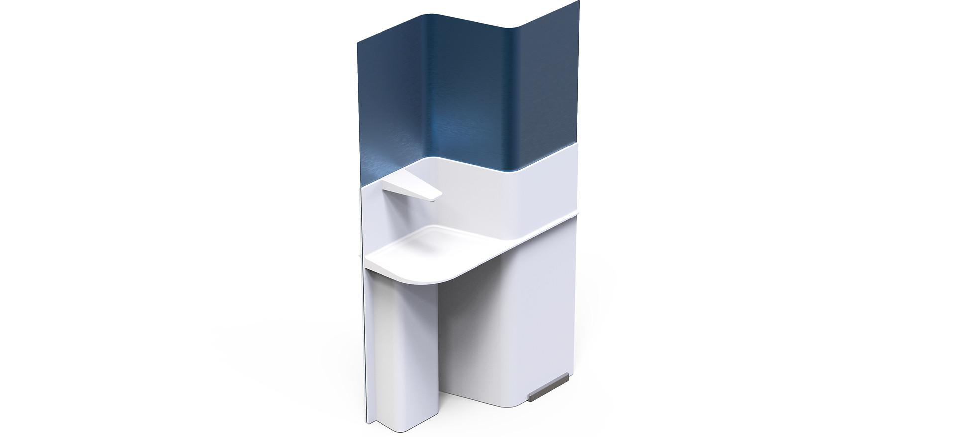 D-Bar - Disinfection unit for public buildings