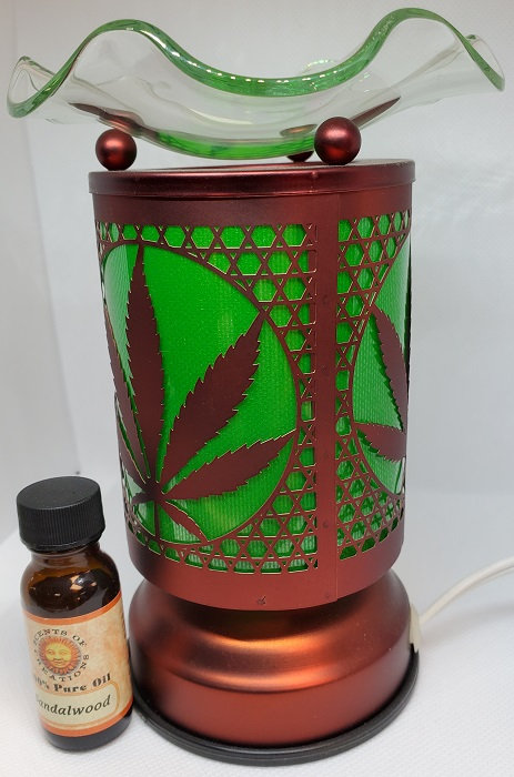 Oil Lamp - Plant