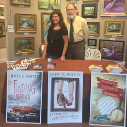 Book signing with the Hubster
